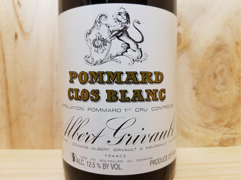 pommard 1er cru clos blanc 2013 albert grivault 75 cl. Black Bedroom Furniture Sets. Home Design Ideas